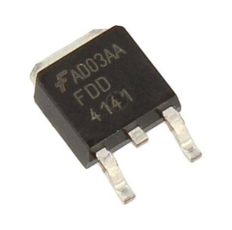 FDD4141 Tranzystor SMD D-PAK (p-channel) 40V 50A 143MHz,0