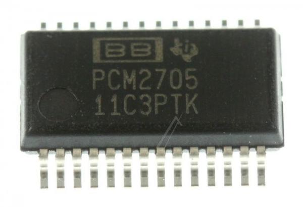 PCM2705DB IC 16-BIT DAC, SMD SSOP-28 (BURR-BROWN),0