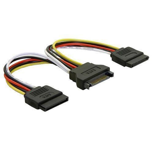Rozgałęźnik SATA - SATA (wtyk/ gniazdo) 60105,0