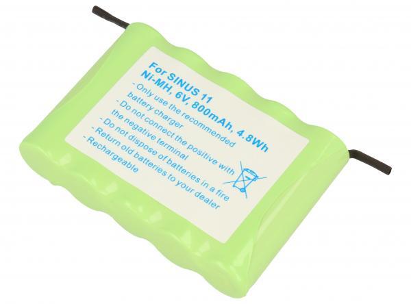 CPAA6002 Akumulator 6V 800mAh telefonu bezprzewodowego,0