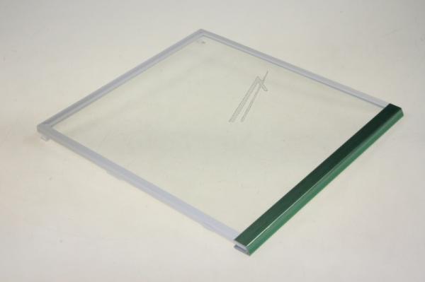 Szyba | Półka szklana zamrażarki kompletna z ramkami do lodówki 00673524,0