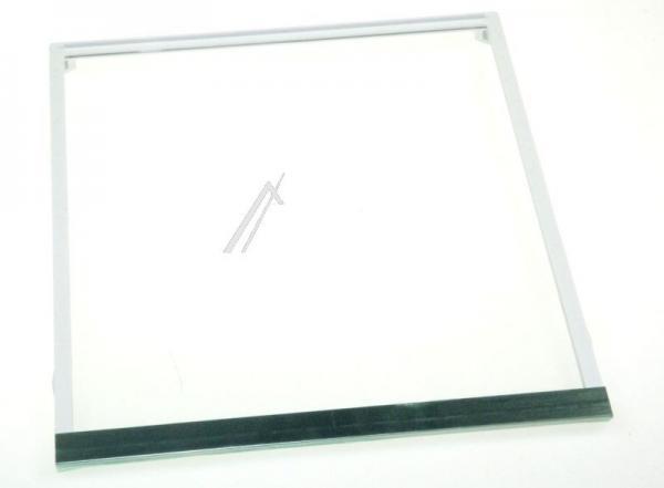 Szyba | Półka szklana zamrażarki kompletna z ramkami do lodówki 00673527,0