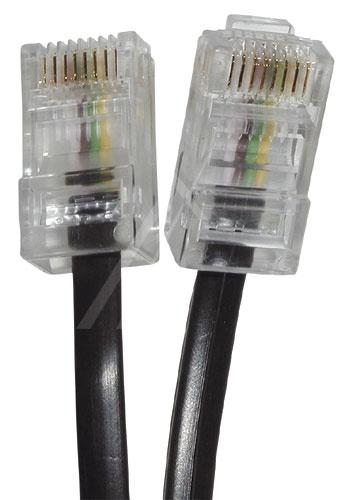 Kabel 8P4C 15m (wtyk/ wtyk) | (telefoniczny),0