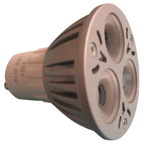 Żarówka   Lampa LED GU10 3W reflektorowa (Ciepły biały),0