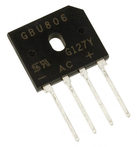 GBU806C2 Mostek prostowniczy,0