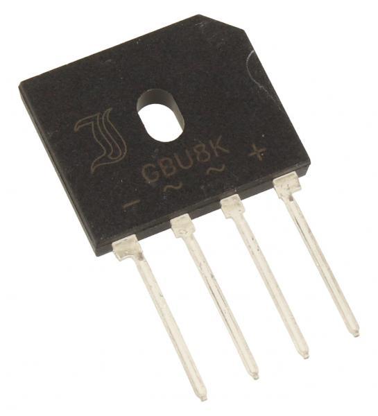 GBU8K Mostek prostowniczy 800V 8A,0