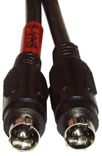 Kabel 5m S-VIDEO - S-VIDEO (wtyk/ wtyk) standard,0