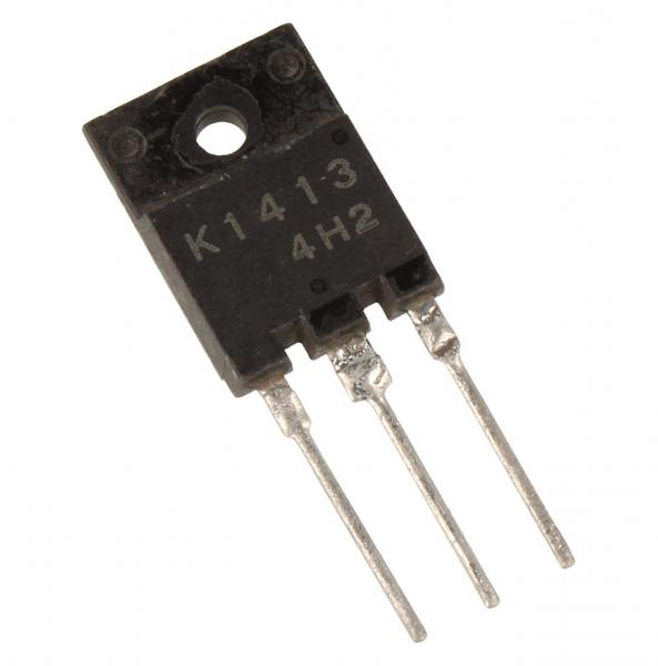 2SK1413 Tranzystor MOS-FET TO-3P (n-channel) 1500V 2A 62.5MHz,0