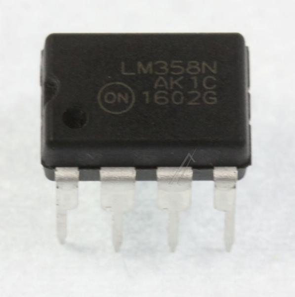 LM358NG IC OPERATIONSVERSTRKER, DIP-8 ON SEMICONDUCTOR,0
