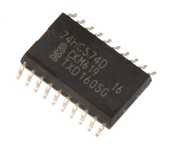 74HC574D,652 74HC574D IC 74HC CMOS, SMD SOIC-20 NXP,0
