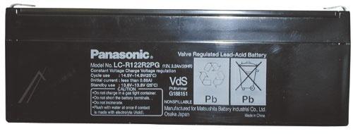 LCR122R2PG Akumulator UPS 12V 2200mAh Panasonic (1szt.),0
