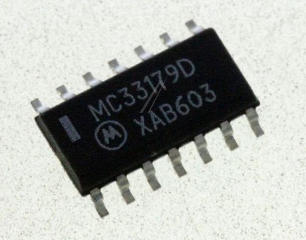 MC33179DG ic 14soic op-amp, quad, ON SEMICONDUCTOR,0