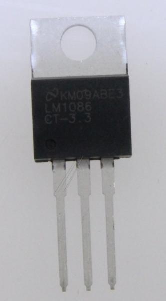 LM1086CT3,3 reg, ldo, 3,3v, 1,5a, to-220 typ:lm1086ct-3,3/nopb,0