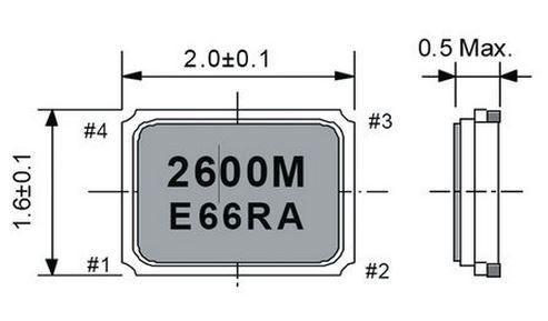 Rezonator kwarcowy FA128,0