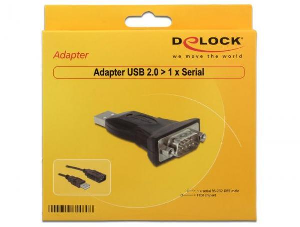 Kabel COM 9 pin - USB (wtyk/ A wtyk) 61460,2