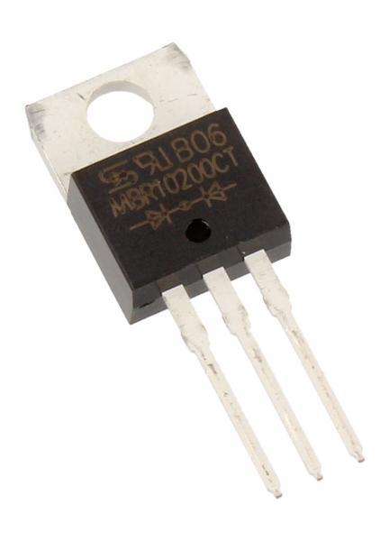 MBR10200CT Dioda Schottkiego MBR10200CT 200V   10A (TO-220-3),0