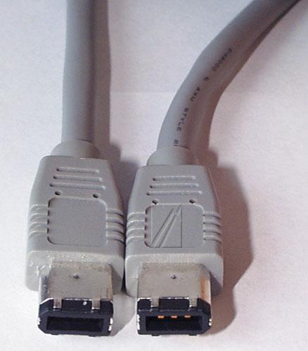 Kabel FireWire 6 pin 3m (wtyk/ wtyk),0