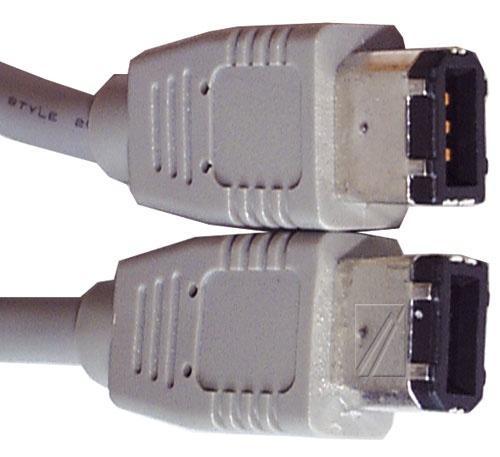 Kabel FireWire 6 pin 4.5m (wtyk/ wtyk),0