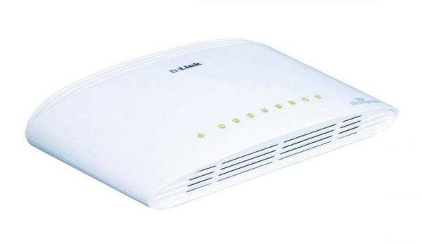 Switch LAN 8 portów D-Link DGS1008DE,0