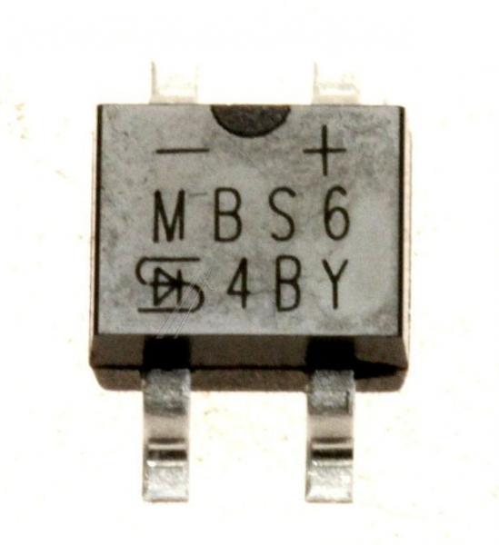 MBS6RC Mostek prostowniczy 600V 0.5A,0