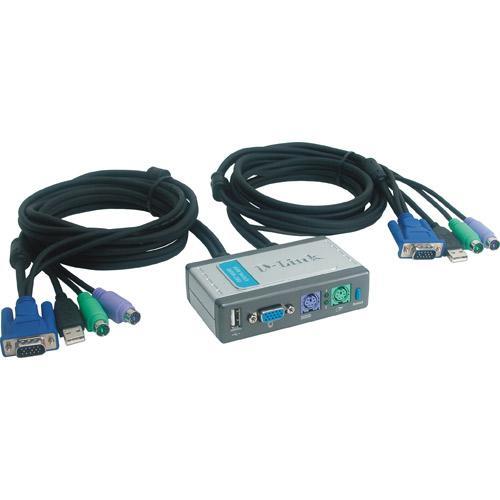 Switch   Przełącznik KVM D-Link DKVM2KU,0