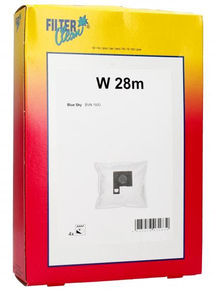 Worek do odkurzacza W28M 4szt. FL0749K,0