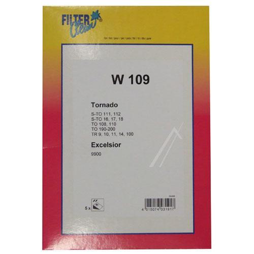Worek W109 do odkurzacza 5szt.,0