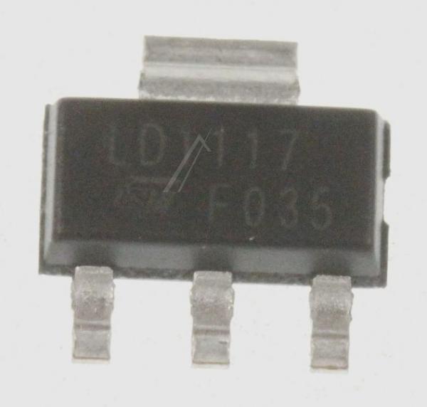 LD1117STR 1117 SPANNUNGSREGLER LDO EINSTELLBAR, +1.25/15V, LD1117, SOT223-3 STMICROELECTRONICS,0