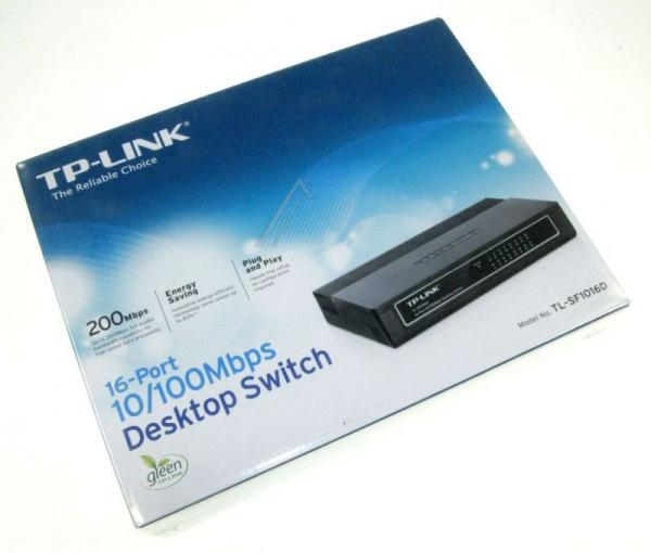 Switch LAN 16 portów TP-Link TLSF1016D,3