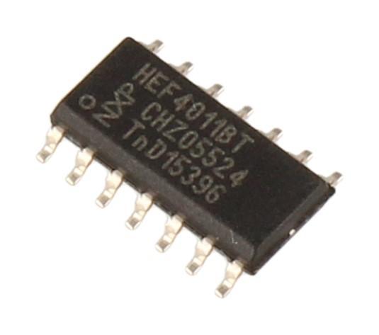 HEF4011BT,652 HEF4011BT ic smd soic14 NXP,0