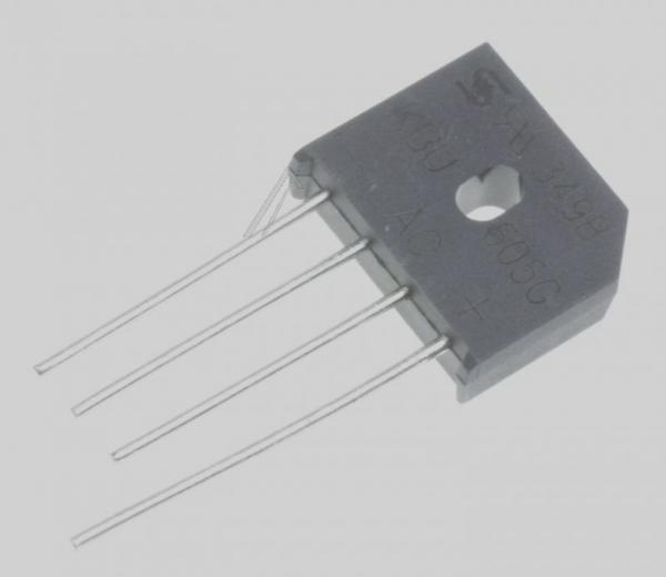 KBU605G Mostek prostowniczy 600V 6A,0
