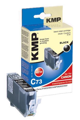 Tusz czarny do drukarki KMP C73,0
