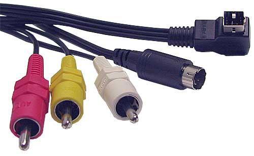 Kabel Kamera - CINCH (wtyk//S-VIDEO wtyk x3/wtyk) | (HITACHI) 5856293,0