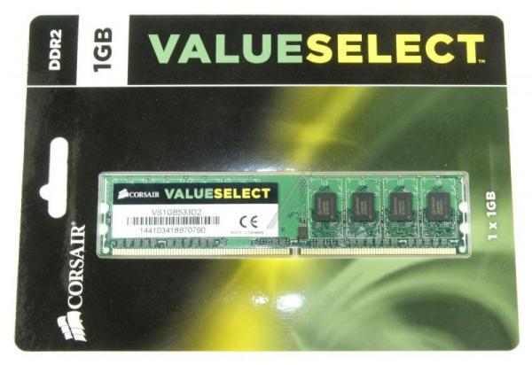 Pamięć RAM DDR2 533MHz 1GB VS1GB533D2,1