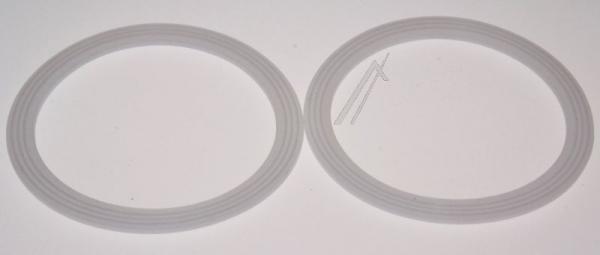 KW710042 LIQUIDISER SEAL - PACK2 - GLAS DE LONGHI - KENWOOD,0