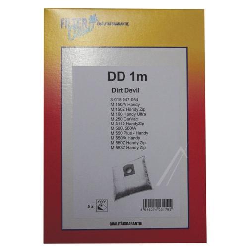 Worek DD1M do odkurzacza 5szt.,0