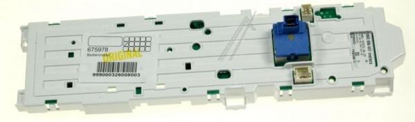 Moduł elektroniczny skonfigurowany do pralki 00675978,0