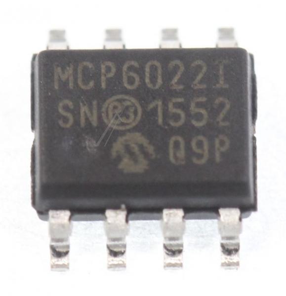 MCP6022ISN MCP6022I IC OPERATIONSVERSTRKER, SMD SOIC-8 MICROCHIP,0