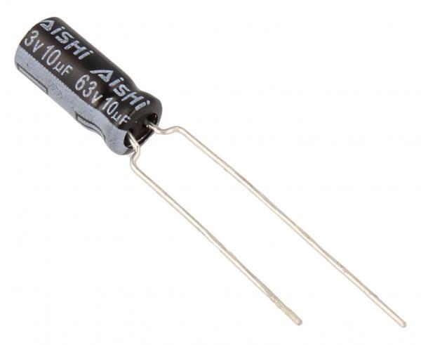 10uF   63V Kondensator elektrolityczny 105C 30016085,0