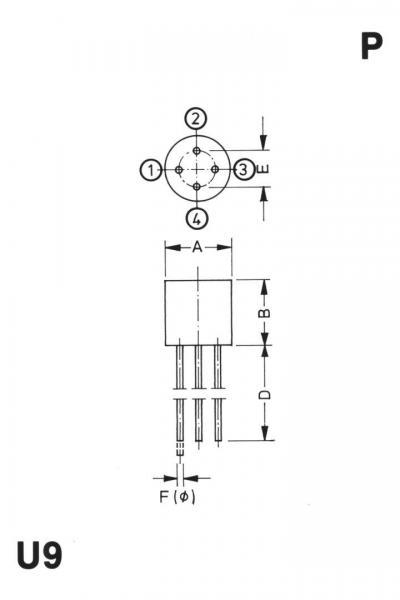 2W06G-E4/51 Mostek prostowniczy 600V 2A WOG,0
