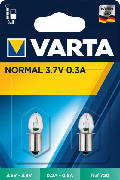 Żarówka Varta 720 do latarki 2szt.,0