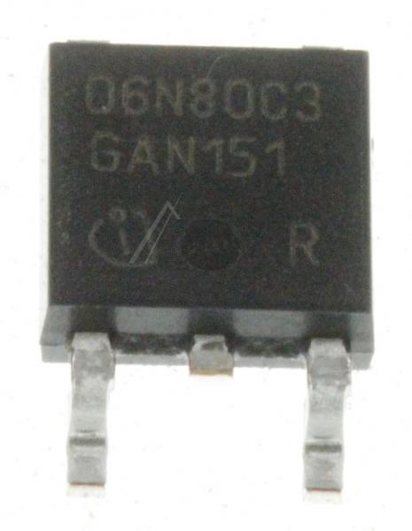 SPD06N80C3 Tranzystor P-TO252 (N-CHANNEL) 800V 6A,0