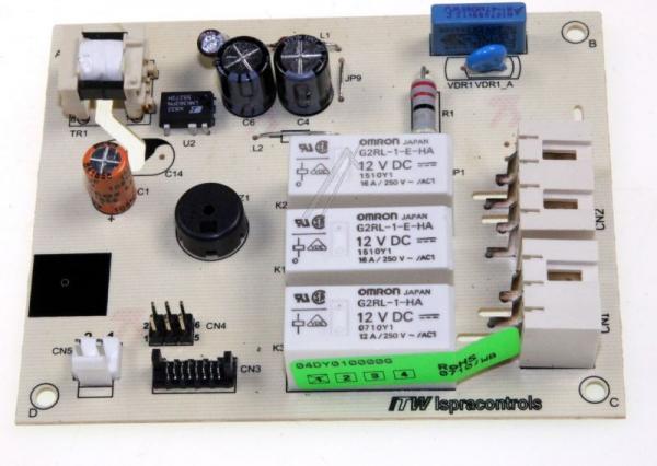 Moduł elektroniczny skonfigurowany do pralki 4055029195,0