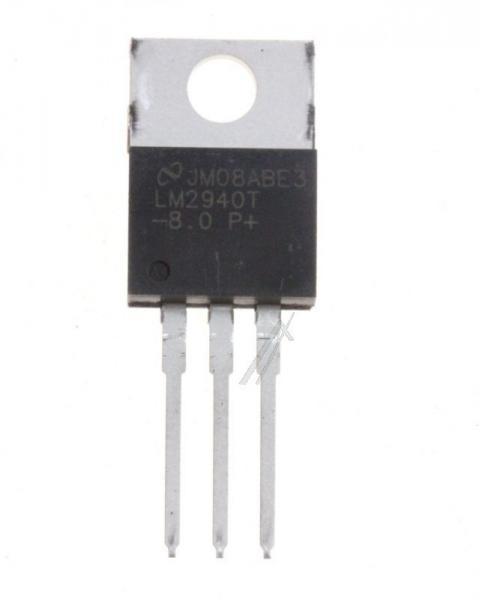 LM2940T80NOPB LM2940T SPANNUNGSREGLER LDO, +8V/1A, 2940 TO-220 TEXAS-INSTRUMENTS,0