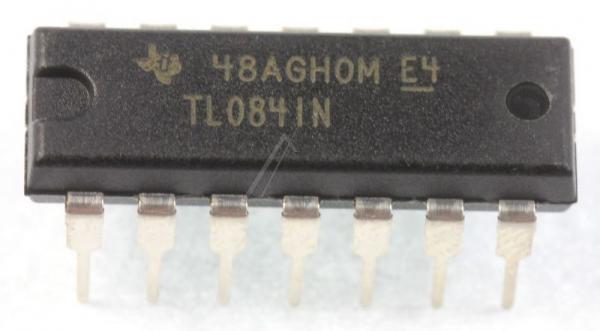 TL084IN IC OPERATIONSVERSTRKER, DIP-14 TEXAS-INSTRUMENTS,0