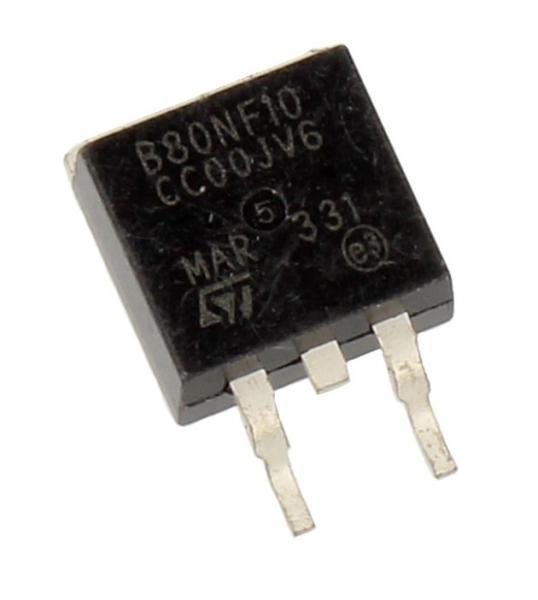 STB80NF10T4 Tranzystor MOS-FET D2Pak (n-channel) 100V 80A 12.5MHz,0