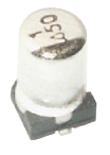 1uF | 50V Kondensator elektrolityczny 85°C SMD 5.3mm/3.2mm,0