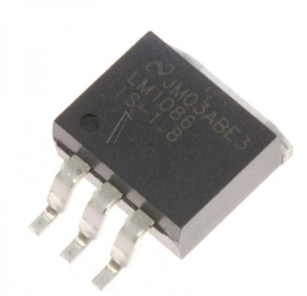 LM1086IS18 SPANNUNGSREGLER LDO 1.5A +1.8VSMD, 1086, TO-263 TEXAS-INSTRUMENTS,0