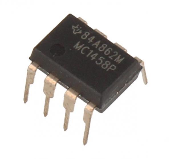 MC1458P ic DIP-8 TEXAS-INSTRUMENTS,0