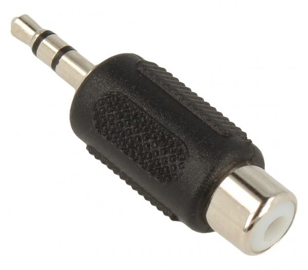 Adapter JACK 3.5mm stereo - CINCH (wtyk/ gniazdo) standard,0